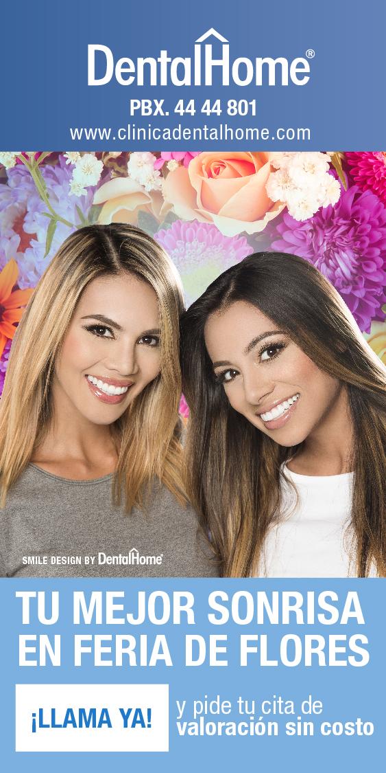En Feria de las Flores Medellín, cambia tu sonrisa con DentalHome.