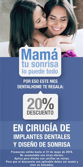 promocion dia de las madres diseño de sonrisa medellin